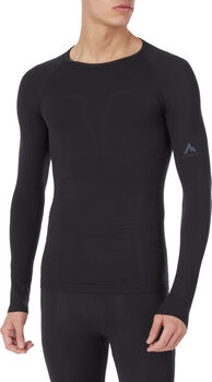 McKINLEY Yacob RN thermoshirt Heren Zwart