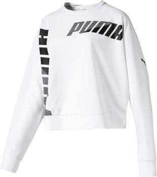 Puma Modern Sport Crew sweater Dames Wit