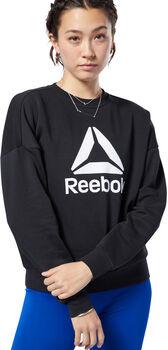 Reebok Workout Ready Big Logo Cover-Up Heren Zwart