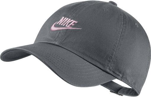 Nike - Heritage86 pet - Unisex - Petten, Hoeden en Mutsen - Zwart - TU
