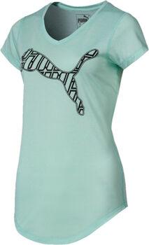 Puma Heather Cat shirt Dames Blauw