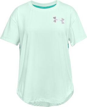 Under Armour HeatGear® Armour kids t-shirt  Meisjes Blauw