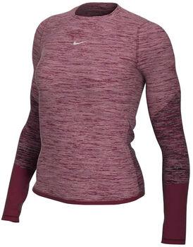 Nike Runway top Dames Rood
