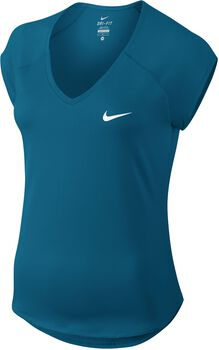Nike Pure Shirt Dames Blauw