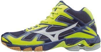 Mizuno Wave Bolt 5 Mid indoorschoenen Heren Blauw