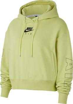 Nike Sportswear Air hoodie Dames Geel