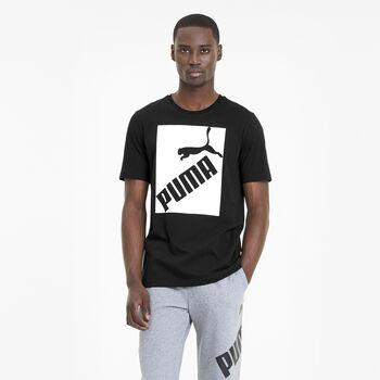 Puma Big Logo shirt Heren Zwart