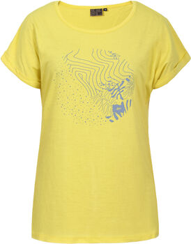 Icepeak Anoka t-shirt Dames Geel