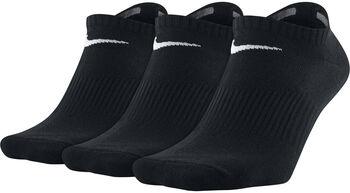 Nike Lightweight No Show sokken (3-pak) Zwart