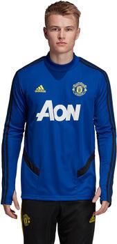 ADIDAS Manchester United FC Training shirt Heren Blauw
