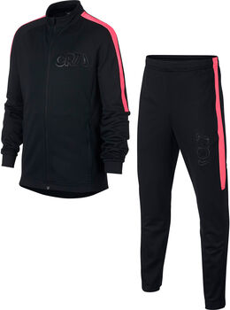 Nike CR7 Jr trainingspak Zwart