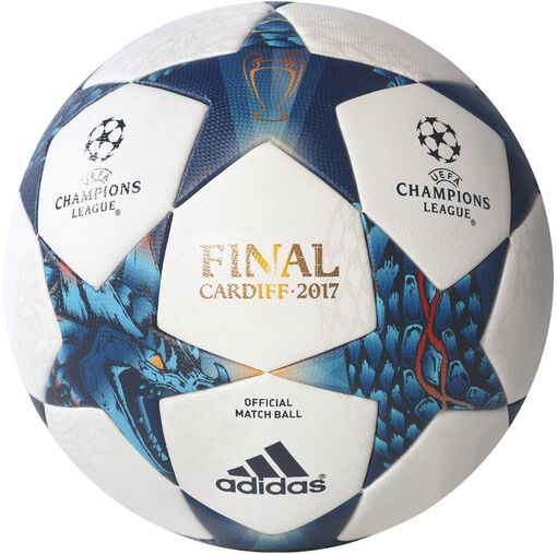 Adidas - Finale Cardiff Offical Match voetbal - Unisex - Accessoires - Wit - 5