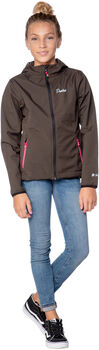 Protest Centro Outerwear Softshell jack Meisjes Bruin