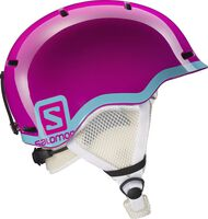 Salomon Grom jr helm Jongens Roze