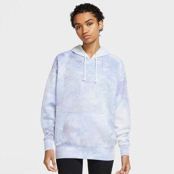 Nike Icon Clash hoodie Dames Blauw