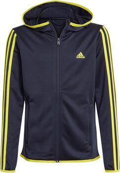 adidas Designed 2 Move 3-Stripes Hoodie Jongens Blauw