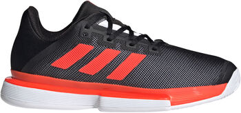 adidas SoleMatch Bounce Hard Court Schoenen Heren Zwart