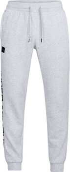 Under Armour Rival Fleece Script joggingbroek Heren Grijs