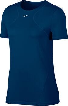 Nike Pro shirt Dames Blauw