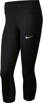 Nike Power Epic Run capri Dames Zwart