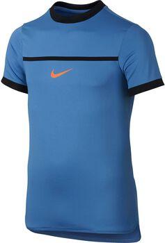 Nike Rafa Challenger jr shirt Jongens Blauw