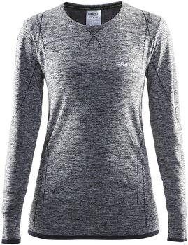 Craft Active Comfort longsleeveshirt Dames Zwart