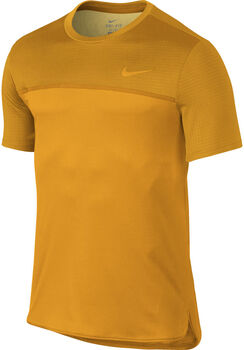 Nike Court Challenger tennisshirt Heren Oranje