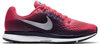 Nike Air Zoom Pegasus 34 hardloopschoenen Dames Rood