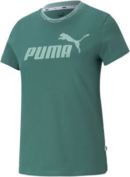 Puma Amplified Graphic shirt Dames Groen