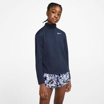 Nike 1/2-zip kids top Jongens Blauw