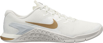 new product 9a50c 23e73 Nike Metcon 4 Champagne fitness schoenen Dames Wit