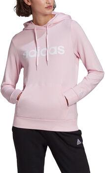 adidas Essentials Logo Hoodie Dames Roze