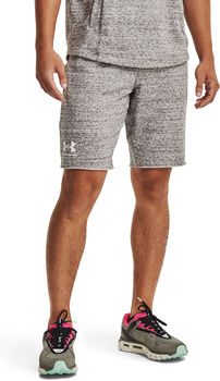 Under Armour Rival Terry short Heren Wit