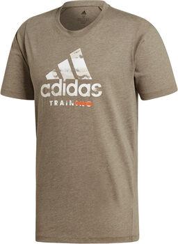 ADIDAS Logo shirt Heren Groen