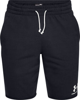 Under Armour Sportstyle Terry short Heren Zwart