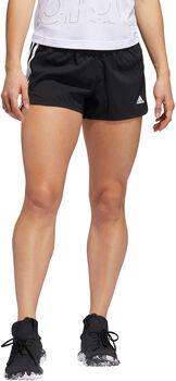 adidas Pacer 3-Stripes Woven short Dames Zwart