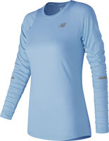 New Balance Seasonless Longsleeve shirt Dames Blauw