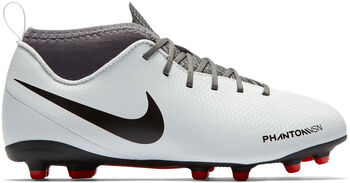 Nike JR Phantom Vision Club Dynamic Fit FG/MG voetbalschoenen Grijs