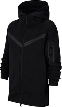 Nike Sportswear Tech Fleece kids hoodie Jongens Zwart