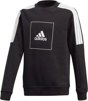 adidas Athletics Club Crew kids sweater Jongens Zwart