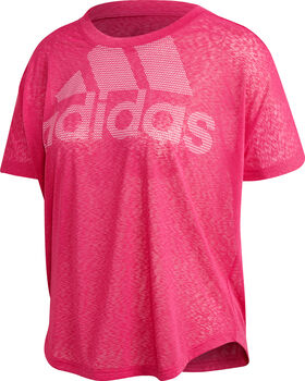 ADIDAS Magic Logo shirt Dames Roze