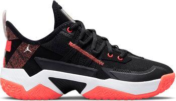 Nike Jordan One Take II kids basketbalschoenen Jongens Zwart