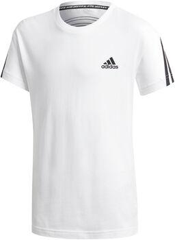 adidas 3-Stripes kids shirt  Jongens Wit