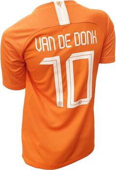 Nike Nederland Stadium Dri-FIT Breathe jr thuisshirt Meisjes Oranje