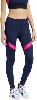 Reebok Workout Ready Mesh legging Dames Blauw