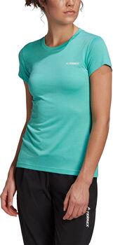 adidas Terrex Tivid T-shirt Dames Groen