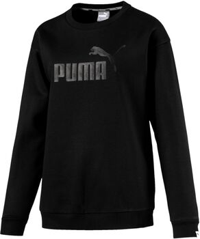 Puma Essential No. 1 Crew sweater Dames Zwart