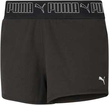 Puma Train Elastic 3I short  Dames Zwart