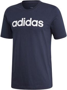 adidas Essentials Linear Logo shirt Heren Blauw