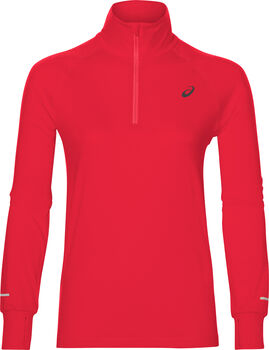 ASICS Thermopolis 1/2 Zip longsleeve Dames Rood